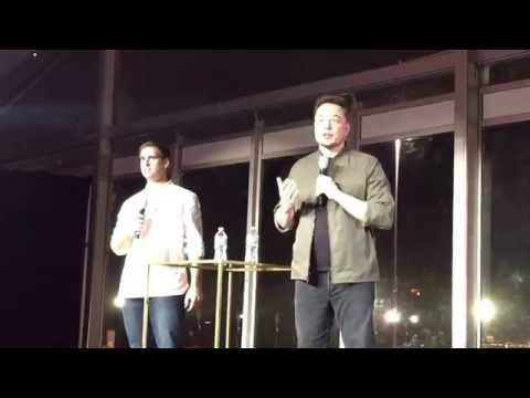 Elon Musk opens the Tesla Gigafactory FULL PRESENTATION 30 Minutes (2016.7.29)