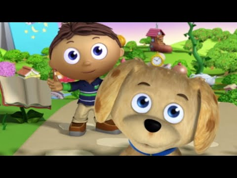 Super WHY! Full Episodes English ✳️  Super WHY and Baby Dino's Big Discovery ✳️  S02E08 (HD)