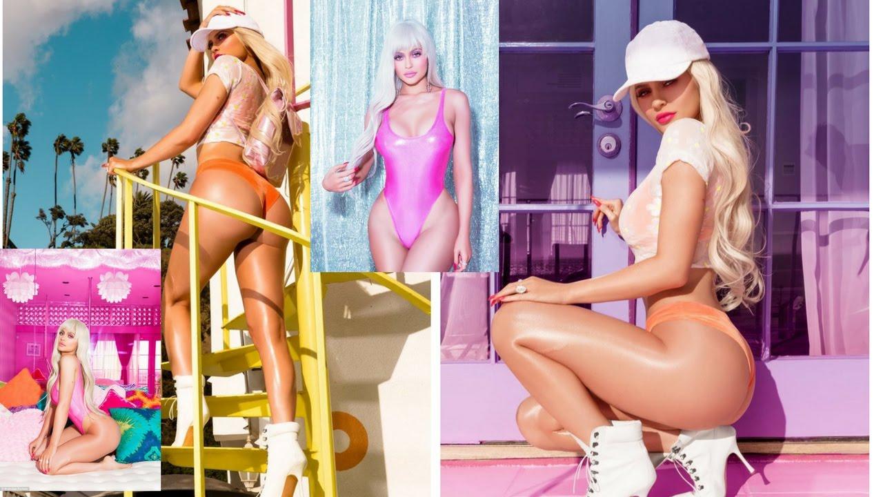 Kylie Jenner Looks Like Barbie In Her Flaunt Magazine Photo Shoot