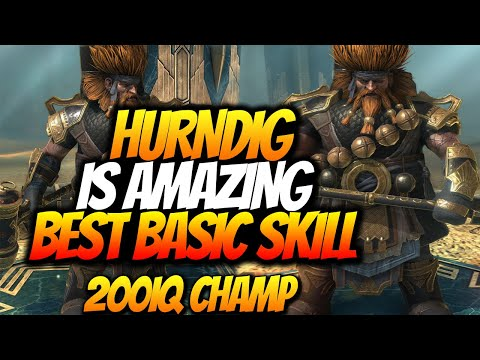 HURNDIG DEALS HUGE DAMAGE AND CLAPS WARLORD!? CHAMPION SPOTLIGHT PROS & CONS  RAID SHADOW LEGENDS