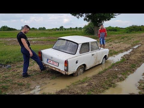 Cu Trabant-ul pe camp! Test Drive Extrem - (Off Road)