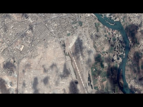 Thumbnail: Satellite Imagery: The Islamic State's Mosul Defenses
