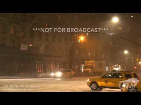 3-14-17 New York CIty, NY Blizzard-Nor