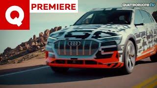 La nuova Audi e-tron: in discesa dalla Pikes Peak!