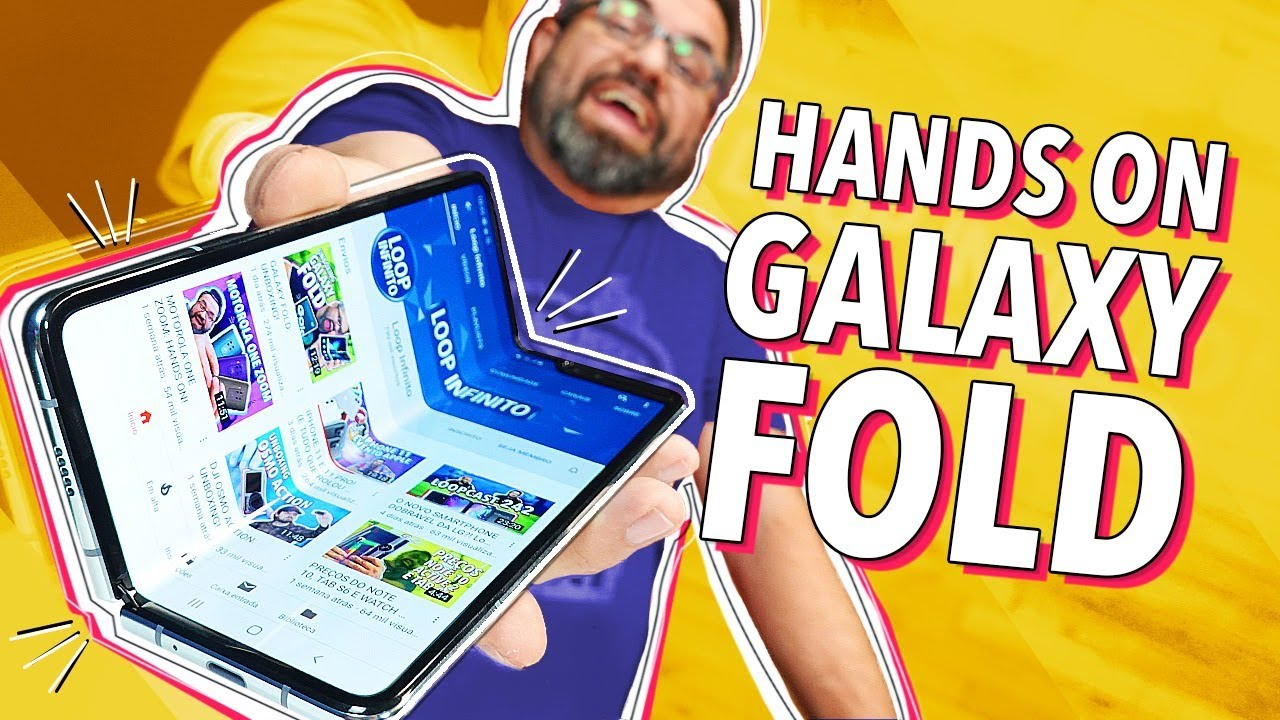 Download GALAXY FOLD: HANDS ON!