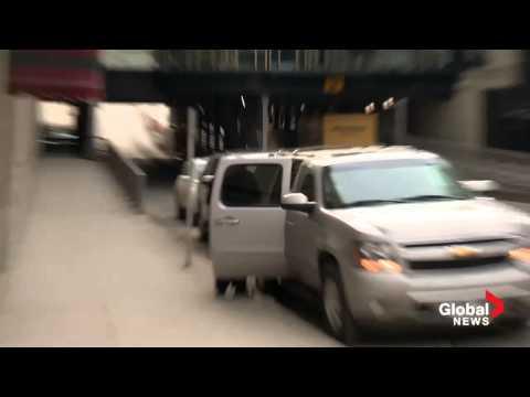 On scene: Oprah arrives in Calgary