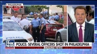 #PhiladelphiaShooting Several Officers Shot In Shoot Out In Philadelphia Well Serving Warrant