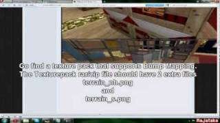 Minecraft Glsl Shaders Tutorial Bump Mapping Tut Works In 1 4 2 Youtube