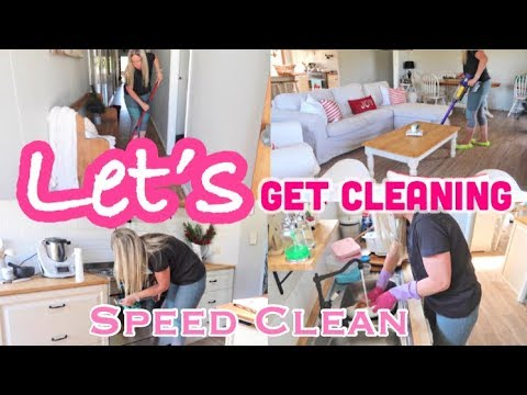 MESSY HOUSE SPEED CLEAN - LET'S GET CLEANING - MESSY HOUSE TRANSFORMATION