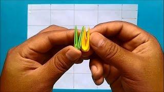 Como hacer piezas de Origami 3D (Segunda versiòn)