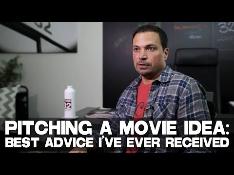 "Pitching A Movie Idea:  Best Advice I've Ever Received by Richard ""RB"" Botto (Stage 32 CEO)"