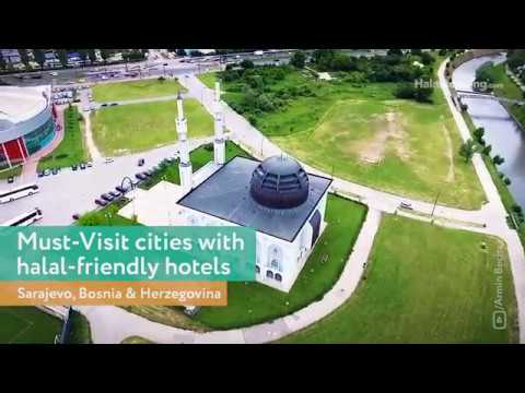 The fascinating city Sarajevo Bosnia and Herzegovina