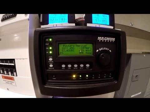Off Grid Solar #45: Charging Batteries with Utility