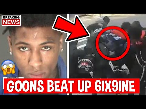 NBA YOUNGBOY Goons Pull Up On 6IX9INE, Here's What Happened…