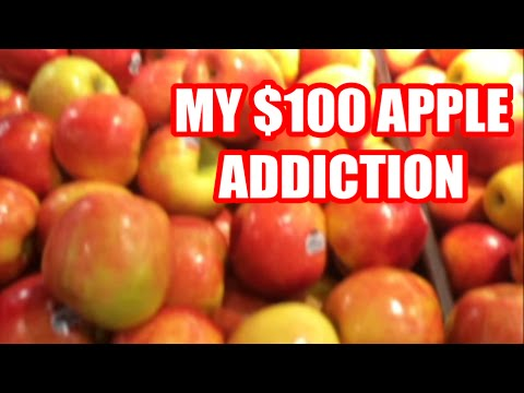 MY $100 APPLE ADDICTION