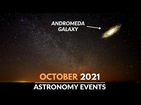Must Watch Astronomy Events in October 2021 | Andromeda Galaxy | Orionid Meteor Shower