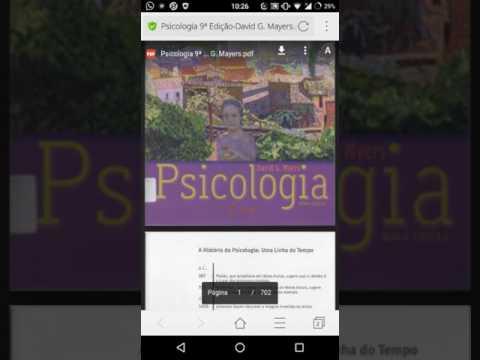 Download Livro Psicologia David G Myers Pdf Link Na Descricao