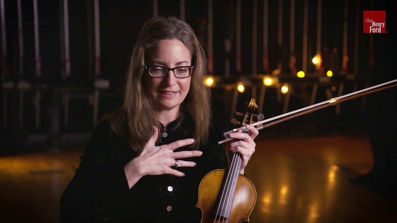 Artwork representing Kim Kennedy plays the 1703 Stradivarius
