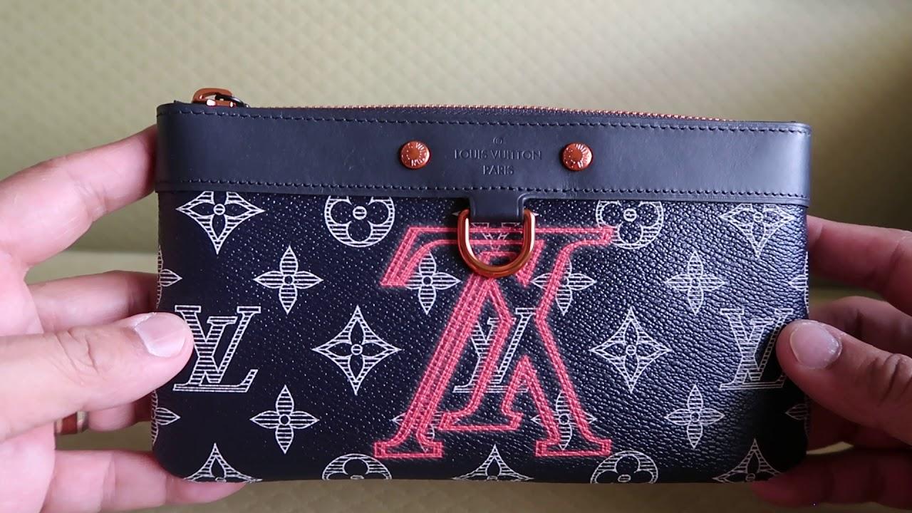 ae34745a9405 Louis Vuitton Upside Down Pocket Organizer   Apollo - YouTube