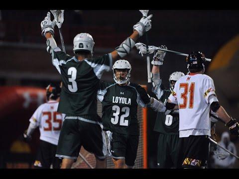 Loyola Greyhounds Men's Lacrosse | 2015 Highlights