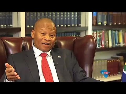 Interview with Chief Justice, Mogoeng Mogoeng