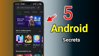 5 Android SECRET Tricks 2019 || Must know Tricks in Tamil....
