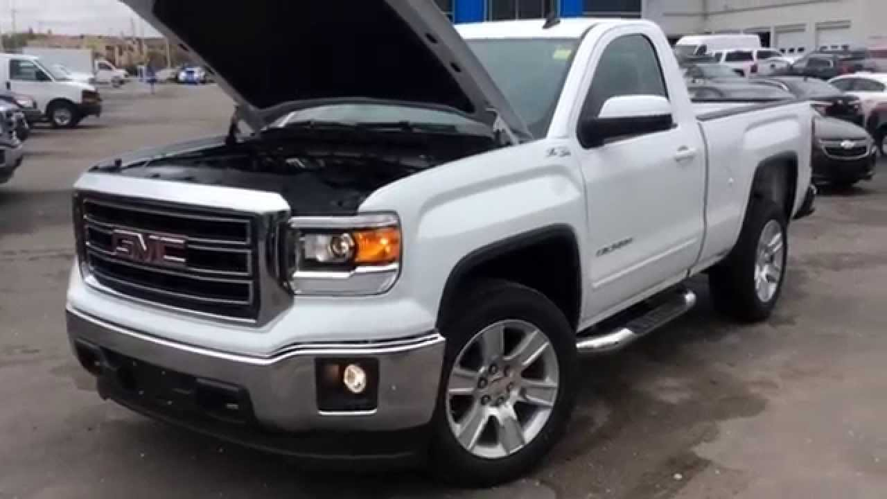 2014 GMC Sierra SLE Regular Cab Review | 140738 - YouTube