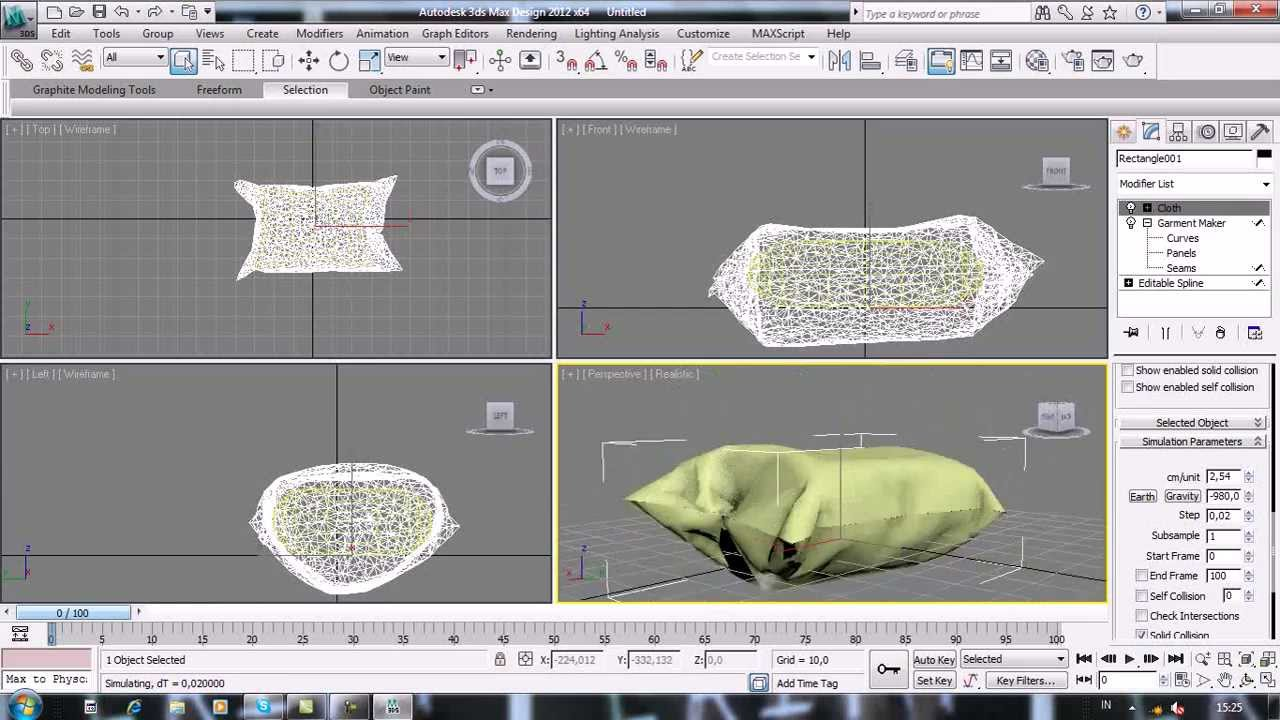 Abstract Production - How to make pillow (3DS MAX Tutorial for beginner ) 284967c1e