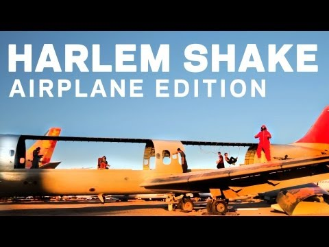 Harlem Shake - Airplane Edition