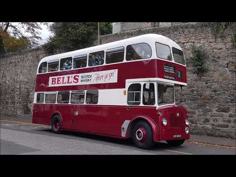 Edinburgh's Buses including Vintage Bus Running Day 29 September 2018
