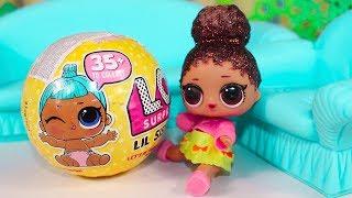 Видео для детей Куклы ЛОЛ Сестричка LOL Baby Dolls LIL Sisters Мультик для детей Пупсики Игрушки