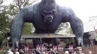 King Kong ride Offride - kingkong Onride Bobbejaanland