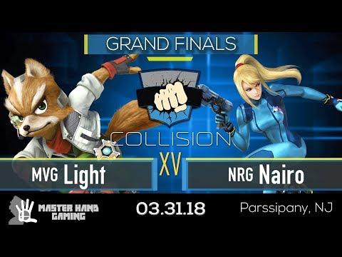 Collision XV - MVG | Light (Fox) vs NRG | Nairo (ZSS) - Grand Finals