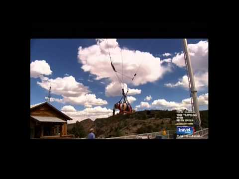 Royal Rush Skycoaster At Canon, Colorado