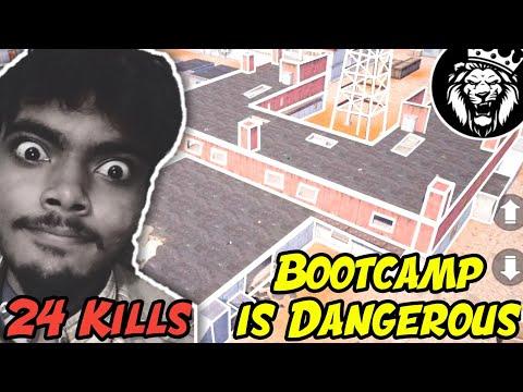 Dangerous BootCamp + Dangerous Anonymous / 24 Kills / Pubg Mobile