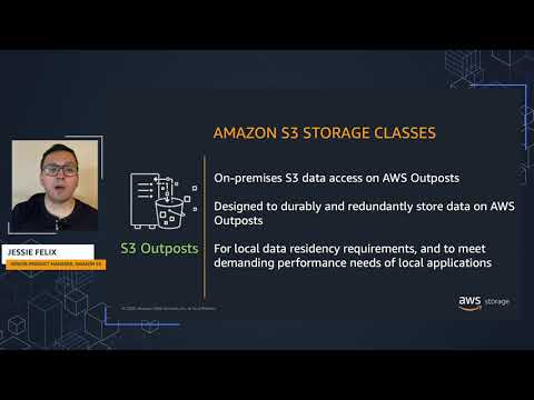 Amazon S3 Storage Classes: Optimized storage for your workload needs