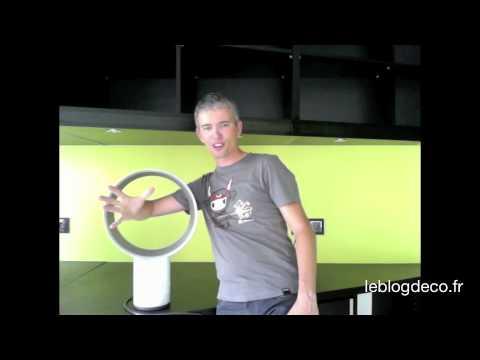 test du ventilateur dyson air multiplier youtube. Black Bedroom Furniture Sets. Home Design Ideas