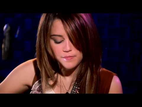 Hannah Montana Miley Sessions music video - butterfly