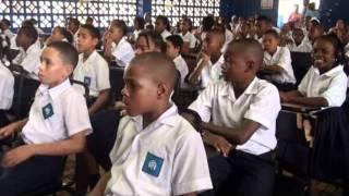 Niños colonenses dicen No a las pandillas