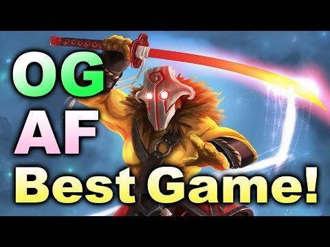 OG vs Ad Finem * BEST GAME EVER!!! * GRAND FINAL Boston Major Dota 2