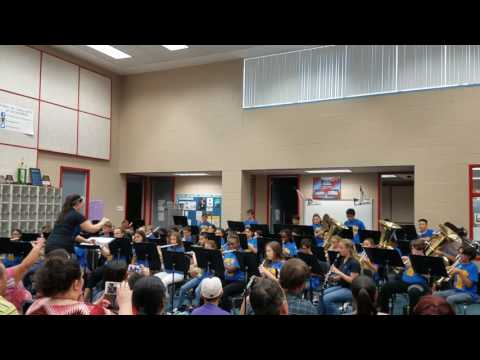 Labay Middle School Summer Band Camp 2017 Concert #3