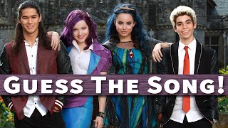 "Guess The ""Descendants"" Song!"
