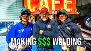 Making $1,000's With A Welder at 20 Years Old | Why You Need To Get Into Welding
