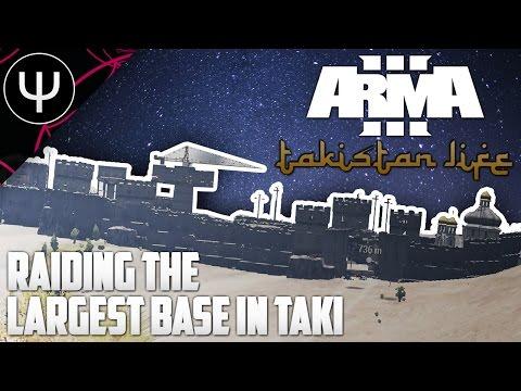 ARMA 3: Takistan Life Mod — Raiding the Largest Base in Takistan!