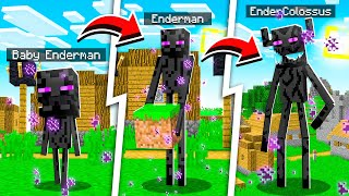 LIFE OF AN ENDERMAN COLOSSUS IN MINECRAFT!