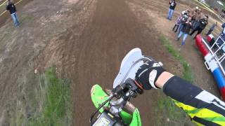 Curtin Ranch Pitbike Race Moto 3, Last to First