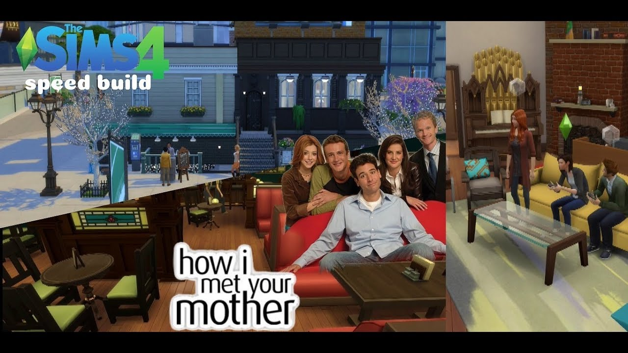 Ted Mosby S Apartment Mclaren Sd Build How I Met Your Mother Sims 4