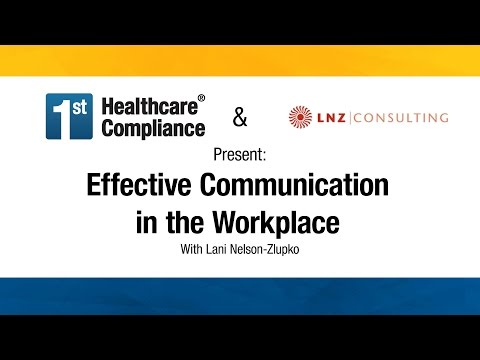how to communicating effectively in the workplace Failure to communicate effectively can be due to a problem on either or both ends of the process effective expressive communication can usually be achieved by sticking to a few important guidelines: • make sure you have the attention of the person you wish to communicate with by establishing and maintaining eye contact.