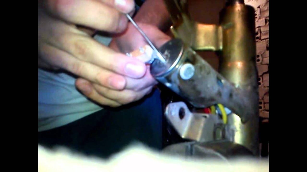 how to break ignition lock