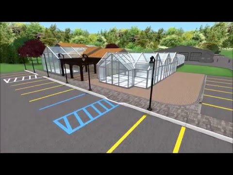 Tree & Shrub Nursery - Greenhouse & Garden Center - 3D Digital Walkthrough
